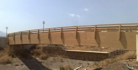 Ponte pedonale nel parco - Palermo PA